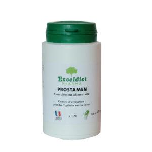 Confort urinaire. Aide à soulager les irritations de la prostate.