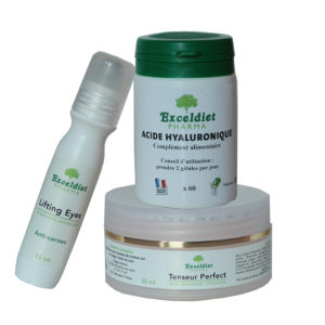 Rides et ridules - Pack anti-âge Gold | exceldiet