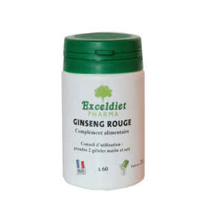 Ginseng rouge contre la fatigue et le stress