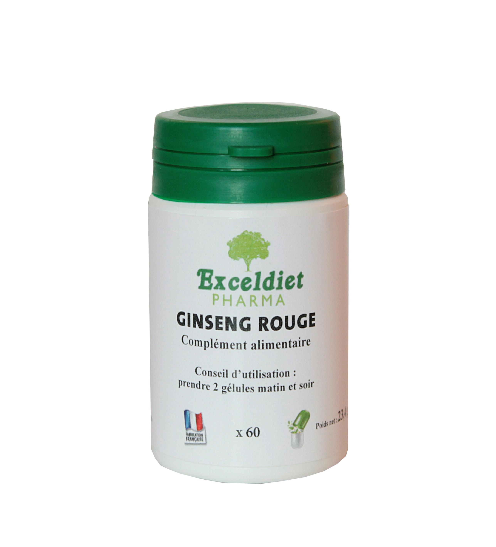 Ginseng rouge contre la fatigue et le stress