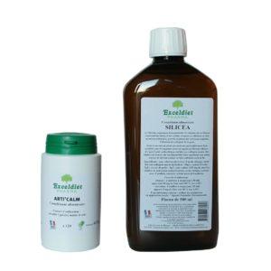 Articulations douloureuses - Pack gélules+ silicium organique liquide