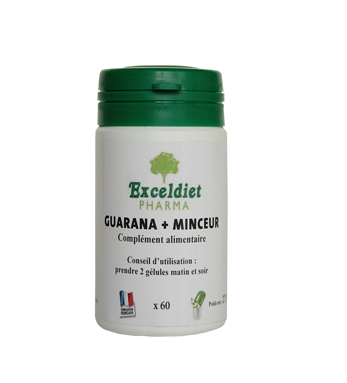 Guarana 60 et 120 Gélules - Brûle graisse | Exceldiet Pharma