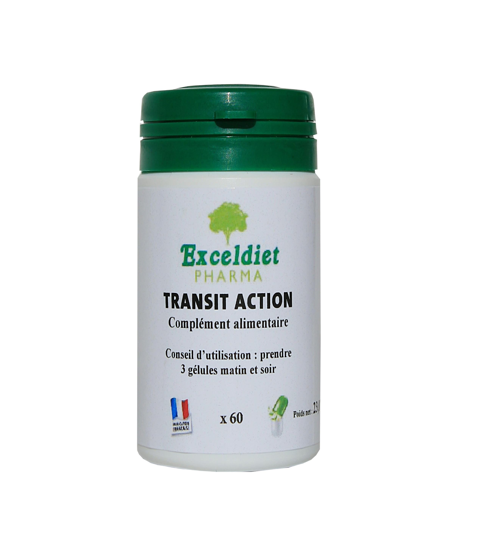 Laxatif naturel 60 et 120 Gélules - Transit Action