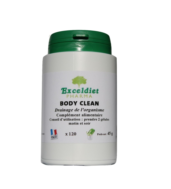 Cure détox 60 et 120 Gélules - Body Clean | Exceldiet Pharma