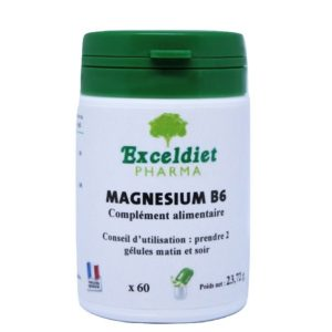 Magnésium b6, gélules anti fatigue.