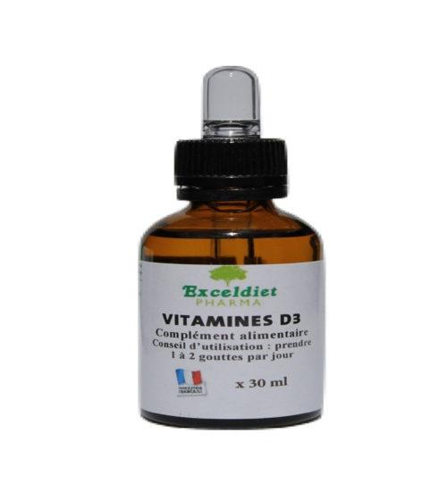 Vitamine D3, bonne santé osseuse et dentaire